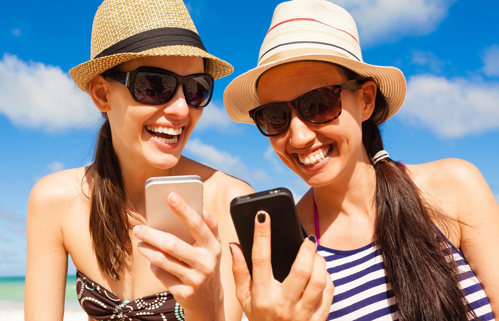 New breakthrough app stops users getting sunburnt