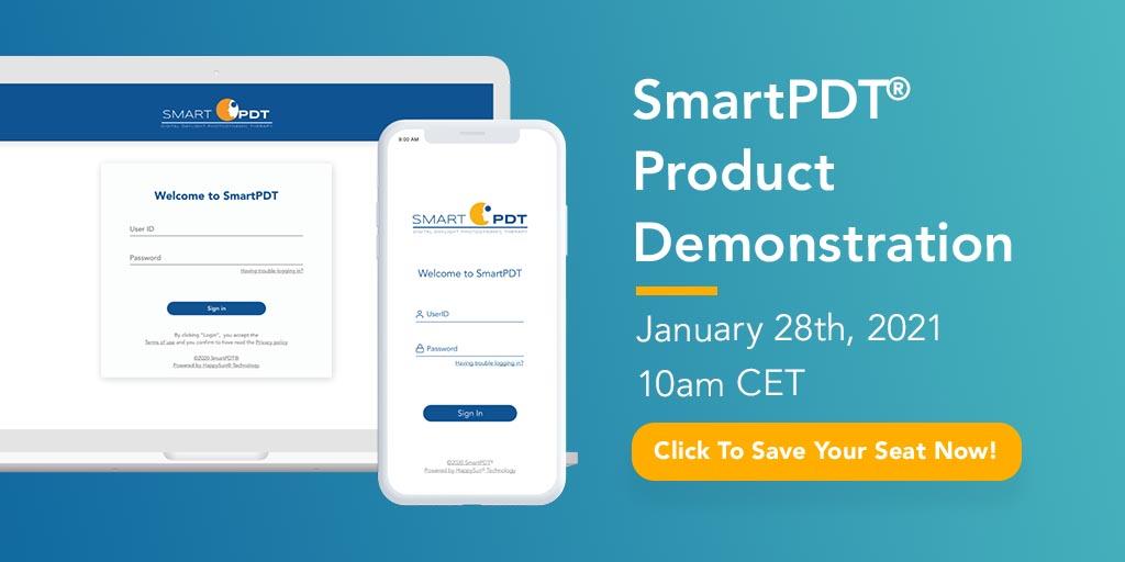 Join us for SmartPDT product demonstration - digital healthcare